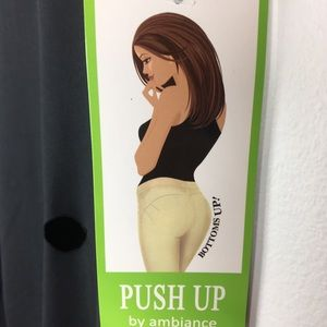 Push up by ambiance large black NWT